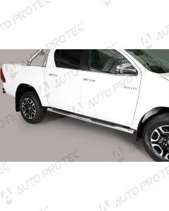 MISUTONIDA boční nerezové nášlapy – oválné Toyota Hilux 15-