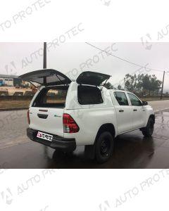 AutoProtec hardtop Starline Fleet – Toyota Hilux s bočními okny výklopnými nahoru