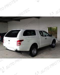 AutoProtec hardtop Extraline Fleet – Mitsubishi L200 CC s posuvnými bočními okny