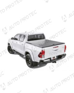 EGR stříbrný hliníkový kryt - Toyota Hilux
