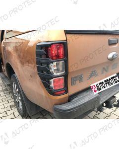 AutoProtec rámečky zadních světel typ B – Ford Ranger