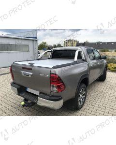 Mountain Top Rolovací kryt stříbrný - Toyota Hilux