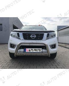 MISUTONIDA přední ochranný nerezový rám Nissan Navara 63 mm