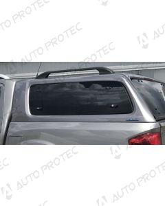 AEROKLAS Nissan Navara boční okno výklopné nahoru - levé