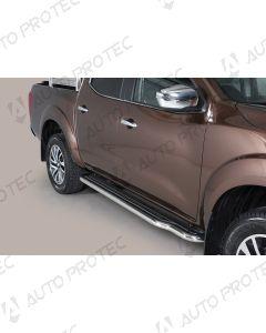 MISUTONIDA boční nerezové nášlapy Nissan Navara
