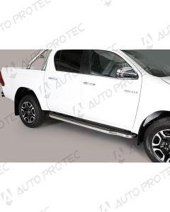 MISUTONIDA boční nerezové nášlapy Toyota Hilux 15-