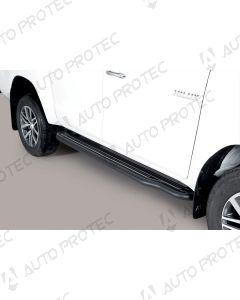 MISUTONIDA boční černé nášlapy - Toyota Hilux