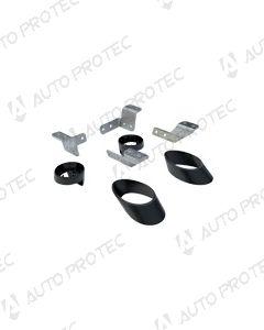 Pro-Form sada k uchycení originálního černého rámu na kryt Sportlid Premium V – Volkswagen Amarok