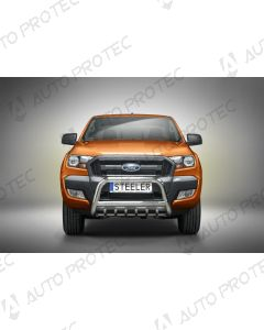 STEELER přední ochranný nerezový rám typ A - Ford Ranger