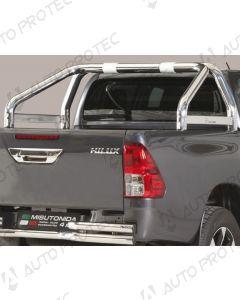 MISUTONIDA zadní nerezový rám – simple 76 mm Toyota Hilux