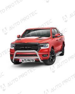 AutoProtec přední ochranný nerezový rám typ A – Dodge Ram 1500 2019-