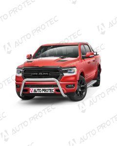 AutoProtec přední ochranný nerezový rám typ B – Dodge Ram 1500 2019-
