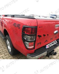 AutoProtec rámečky zadních světel typ A – Ford Ranger