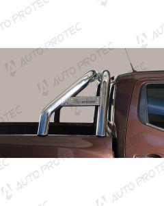 MISUTONIDA zadní nerezový rám - design 76 mm Nissan Navara