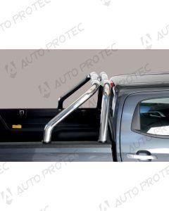 MISUTONIDA zadní nerezový rám – design 76 mm Isuzu D-Max 2020-