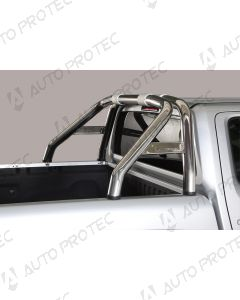 MISUTONIDA zadní nerezový rám – design 76 mm Volkswagen Amarok