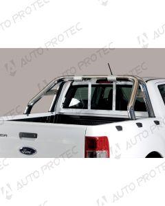 MISUTONIDA zadní nerezový rám - design 76 mm Ford Ranger