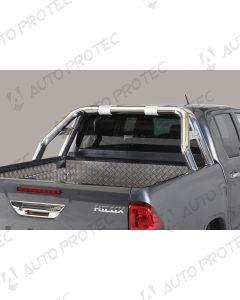 MISUTONIDA zadní nerezový rám – design 76 mm Toyota Hilux