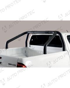 MISUTONIDA zadní černý rám – simple 76 mm Toyota Hilux