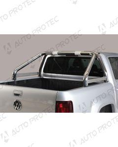MISUTONIDA zadní nerezový rám – simple 76 mm Volkswagen Amarok