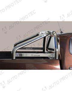 MISUTONIDA zadní nerezový rám - simple 76 mm Nissan Navara
