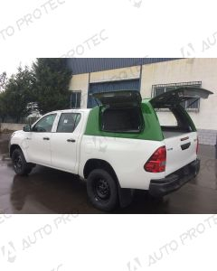 AutoProtec hardtop Starline – Toyota Hilux s bočními okny výklopnými nahoru