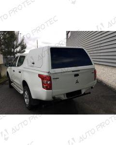 AutoProtec hardtop Starline Fleet – Fiat Fullback s bočními okny výklopnými nahoru
