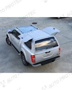 AutoProtec hardtop Starline Fleet – Nissan Navara s bočními okny výklopnými nahoru
