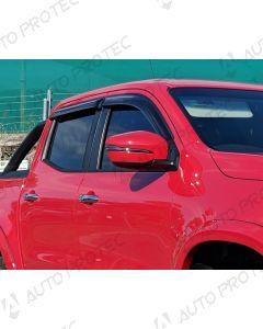 EGR Deflektory všech oken – Nissan Navara 08-14